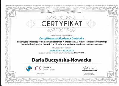 certyfikat-Daria